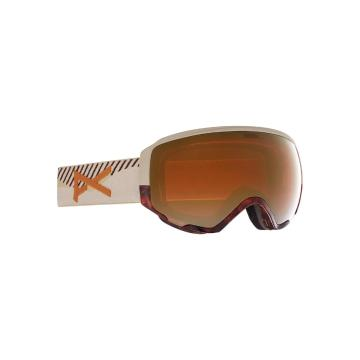 Anon 2021 Women's WM1 Goggles with Spare Lens and MFI Facemask