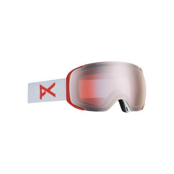 Anon Men's M2 Asian Fit Goggles with Spare Lens - Eyes/Sonarsilver - Eyes/Sonarsilver