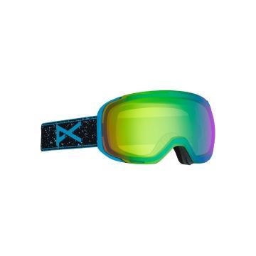 Anon Men's M2 Asian Fit Goggles with Spare Lens - Ranger/Sonargreen - Ranger/Sonargreen