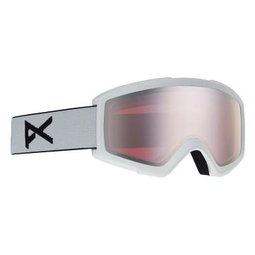 Anon Men's Helix 2 Sonar Goggles with Spare Lens - White/Sonarsilver - White/Sonarsilver