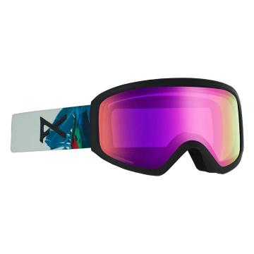 Anon Women's Insight Sonar Goggles with Spare Lens - Parrot/Sonarpink