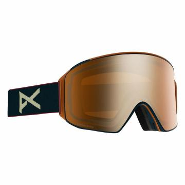 Anon Men's M4 Cylindrical Snow Goggles -  Royal/Sonar Bronze