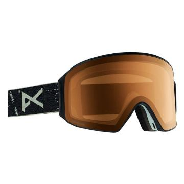 Anon 2020 Men's M4 Cylindrical Goggles - Abyss/Amber