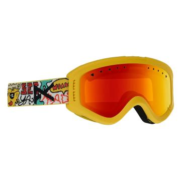 Anon 2020 Youth Tracker Goggles -  Pizza/Red Amber