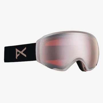 Anon 2020 Women's Asian Goggles - Rosegold/Sonarblue