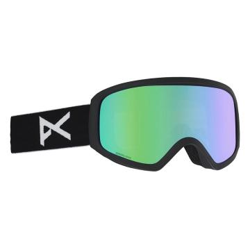 Anon 2020 Women's Insight Goggles  With Spare lens - Black/Green Solex