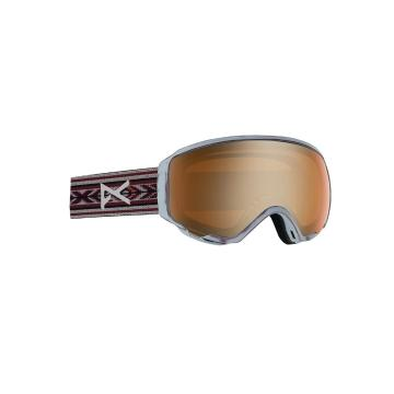 Anon Women's WM1 Asian Fit Snow Goggles + Spare Lens