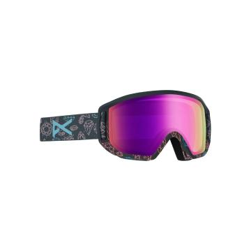 Anon Relapse Junior MFI Snow Goggles - BLING/PINK AMBER