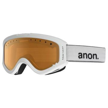 Anon 2019 Youth Tracker Goggles - White/Amber