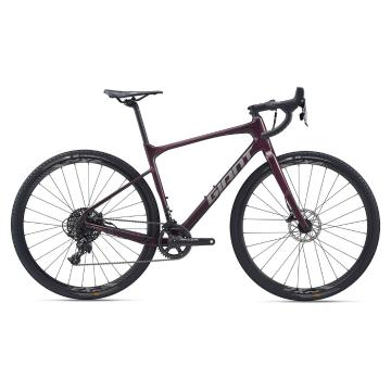 Giant 2020 Revolt Advanced 1 Gravel Bike - Wine Purple