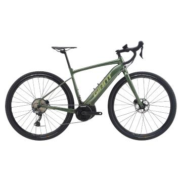 Giant 2020 Revolt E+ Pro e-Bike - Metallic Army / Olive