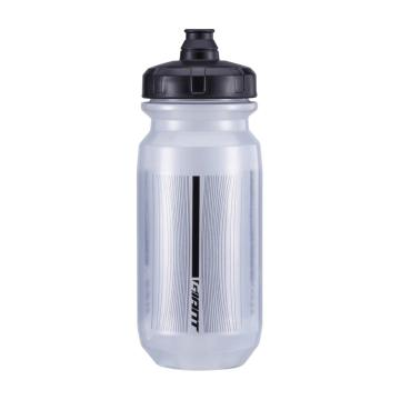 Giant Double Spring 600ml Bottle - Transparent Grey