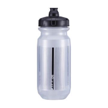 Giant Double Spring 600ml Bottle - Transparent Grey