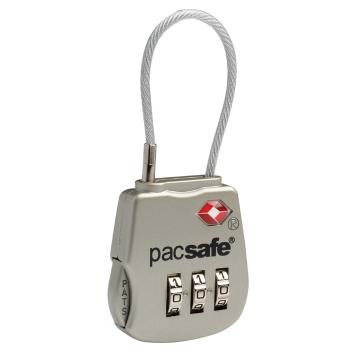Pacsafe Prosafe 800 TSA accepted 3-dial cable lock