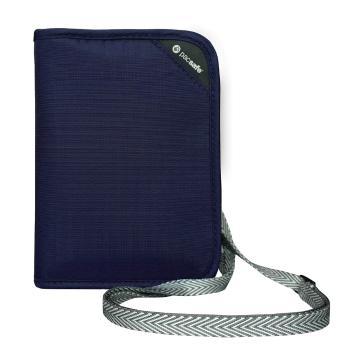 Pacsafe RFIDsafe V150 Compact Travel Organiser - Navy