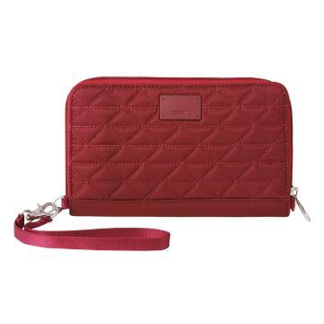 Pacsafe RFIDsafe W200 Travel Wallet - Cranberry