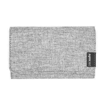 Pacsafe RFIDsafe LX100 Blocking Wallet - Tweed Grey