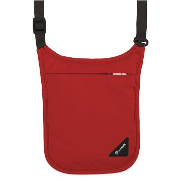 Pacsafe Coversafe V75 Neck Pouch - Chilli Red