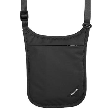 Pacsafe Coversafe V75 Neck Pouch - Black