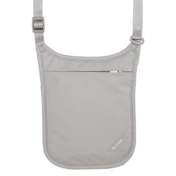 Pacsafe Coversafe V75 Neck Pouch - Grey