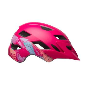 Bell 2020 Sidetrack Kids Helmet - Berry Gnarly