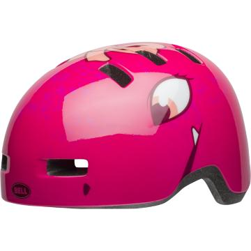 Bell Lil Ripper Kids Helmet - Berry Eyes