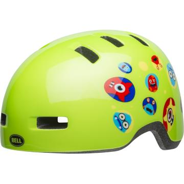 Bell Lil Ripper Kids Helmet - Green Monster