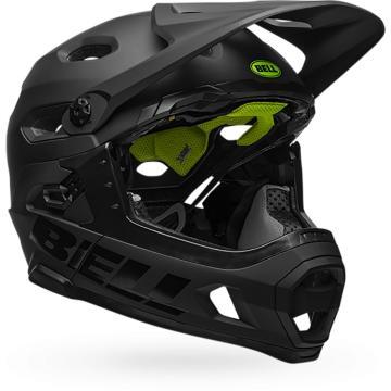 Bell Super DH MTB Helmet - Mat/Gloss Black