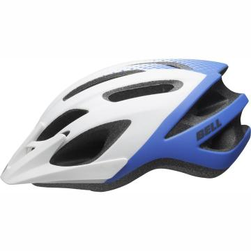 Bell 2020 Crest Jr Helmet - White/Force Blue
