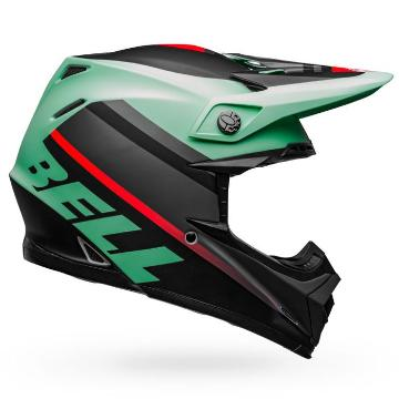 Bell Moto-9 MIPS Prophecy - Matte Green/Infrared/Black