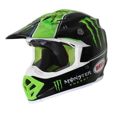 Bell Moto-9 Limited Edition Eli Tomac Replica Helmet - ECE - Black/Green
