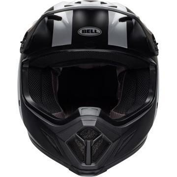 Bell MX-9 Mips Presence Helmet - Matte Black/White