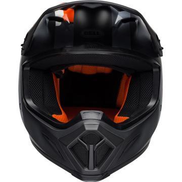 Bell MX-9 Mips Presence Helmet - Black Flo Orange Camo