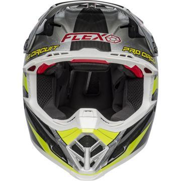 Bell Moto-9 Flex PC Replica Helmet - Black/Green