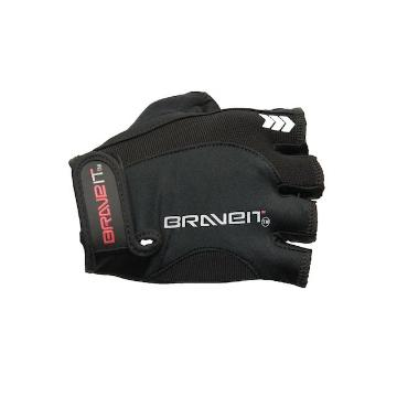 BraveIT 2019 Air Gel Short Finger Gloves - Black