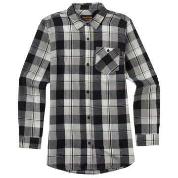 Burton 2018 Women's Grace Long Sleeve Woven - Anemone Haze Plaid