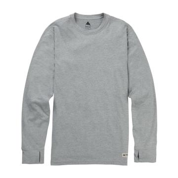 Burton   Mens Midweight Crew - Monument Heather