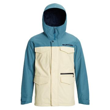 Burton Men's Covert Jacket - Almd Mlk/Storm Rpstp