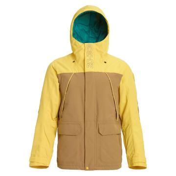 Burton Men's Breach Insulated Jacket - Kelp/Maize