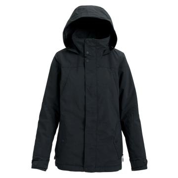 Burton Women's Jet Set 10K Snow Jacket - True Black Heather