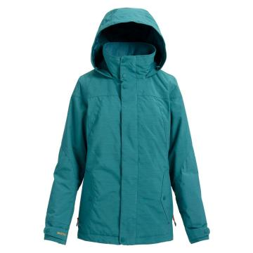 Burton Women's Jet Set 10K Snow Jacket - Balsam Heather