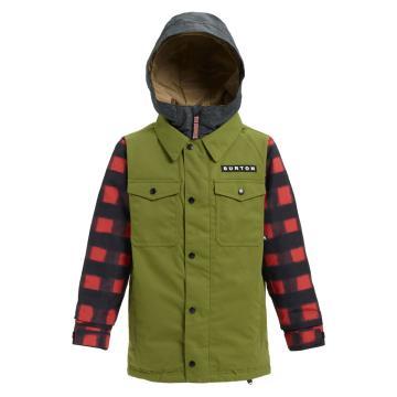 Burton 2019 Boys Uproar 10k Snow Jacket  - Olvbrh/Sprbuf
