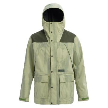 Burton Men's Cloudlifter Jacket - MOSSTONEDISTRESSED/FORESTNIGHT
