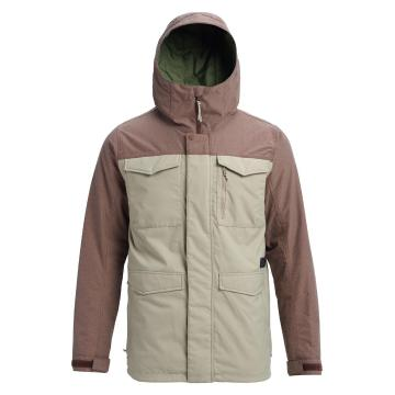 Burton Men's Covert Jacket - Hawk / Chesnut