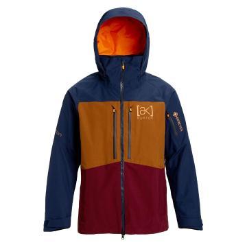 Burton 2020 Men's Ak Gore Swash Jacket - Drsblu/Monks/Ptroyl
