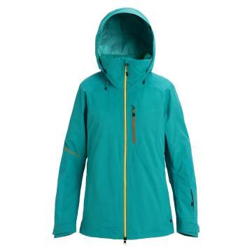 Burton 2020 Women's Ak Gore Embark Jacket - GREEN-BLUE SLATE