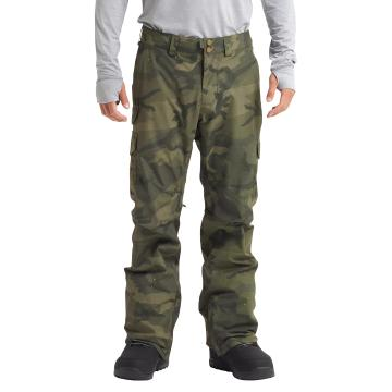 Burton Men's Cargo Pants Regular - Worn Camo Print