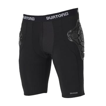 Burton Mens Total Impact Shorts - True Black