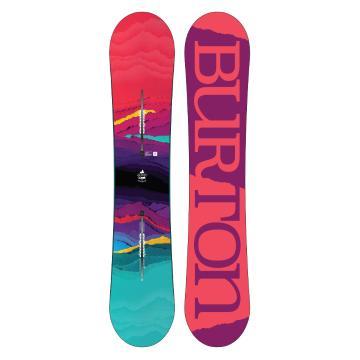 Burton Women's 2018 Feelgood Flying V Snowboard