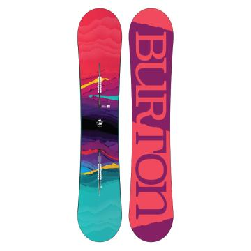 Burton Women's 2018 Feelgood Flying V Snowboard